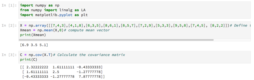 Covariance – From Data to Decisions